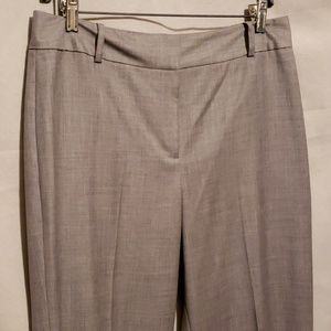Anne Taylor Grey Dress Pants Sz 10